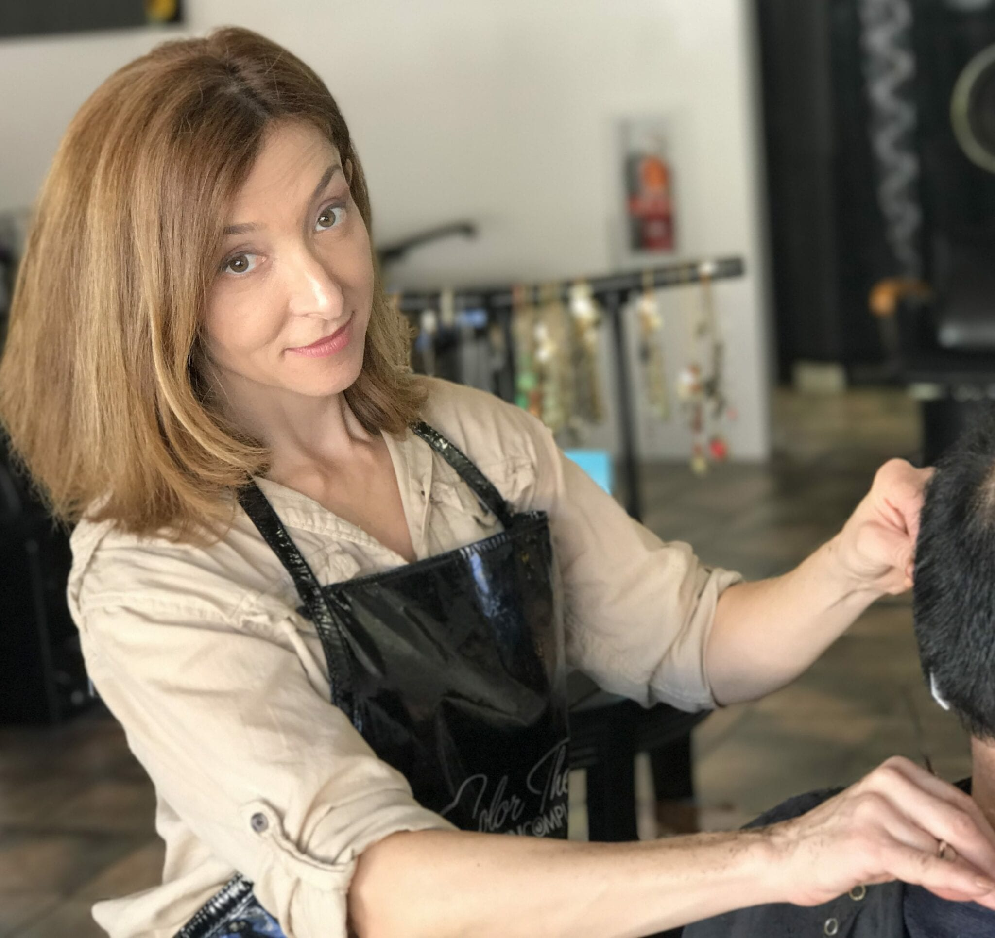 Silvia Santana owner master hair